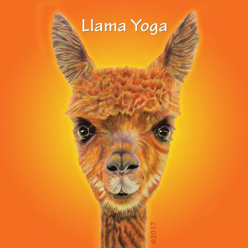 Llama Yoga Logo Icon